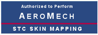 MAG Avionics is Authoried to Perfrom AeroMech STC Skin Mapping